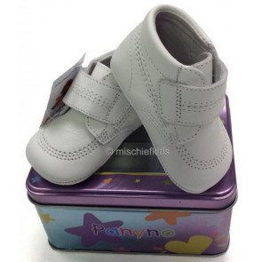 Couche Tot Panyno 1324 Soft Leather Pram Shoes