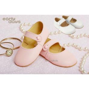 Early Days EMMA Girls Leather Pram Shoe