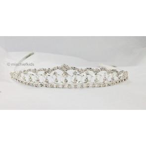 Little People 4056 Girls Diamante Tiara Crown
