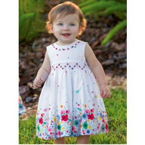 Sarah Louise 010330 Summer Garden Smock Dress