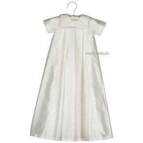Emile et Rose Occasions 8306 SAMUEL Boys Silk Christening Gown