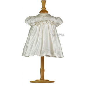 Emile et Rose Occasions 8307 SUMMER Ivory Silk Christening Dress