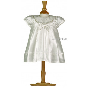Emile et Rose Occasions 8312 SAMANTHA Silk Christening Dress