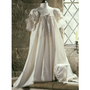 Little Darlings G3132 Lilly Royal Christening Gown and Bonnet