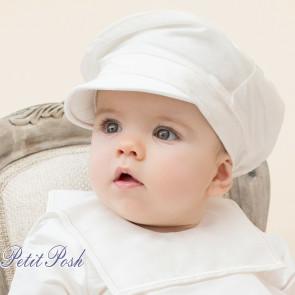 Emile et Rose Occasions 4716 Scott Boys Silk Baker Boy Hat