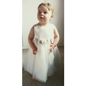 Sarah Louise Ivory Roses Tulle Dress HALF PRICE
