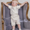 Emile et Rose Occasions 6381 SIMON Silk Shirt & Linen Shorts