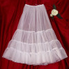 Little Darlings PT9012 Tulle PettiSkirt Underskirt for Christening Gowns