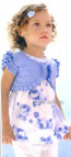 Mayoral 28613 Girls 2yr Sample Floral Cotton Blouse
