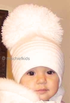 Satila Big Pom Hats and Sizes ¦ Petit Posh at Mischiefkids